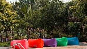 2 outdoor pools, a natural pool