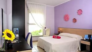 In-room safe, desk, free cribs/infant beds, free WiFi