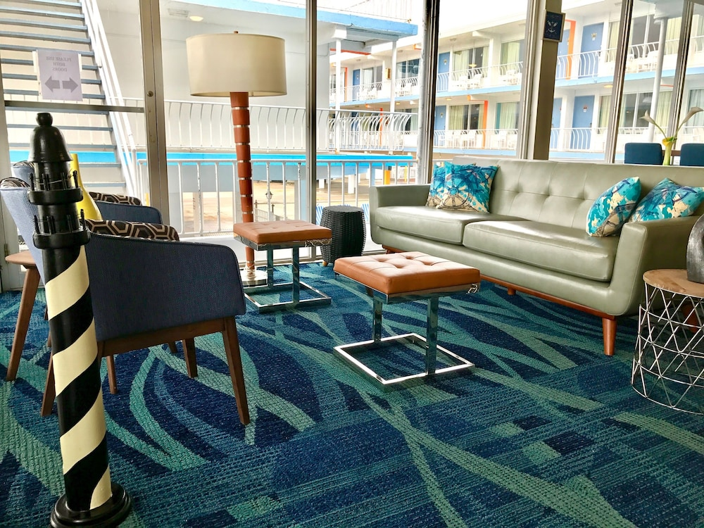 Lobby Sitting Area, Quality Inn Boardwalk Wildwood Oceanfront