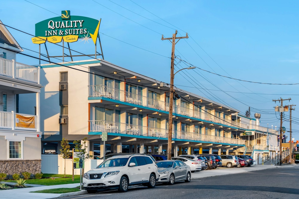 Exterior, Quality Inn Boardwalk Wildwood Oceanfront