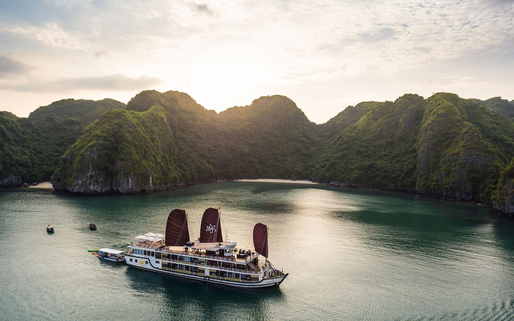 View from Property, Orchid Halong Cruise