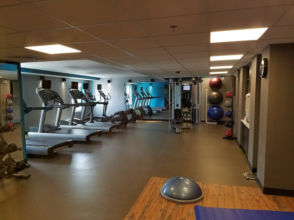 Gym, Fairfield Inn & Suites Springfield Holyoke