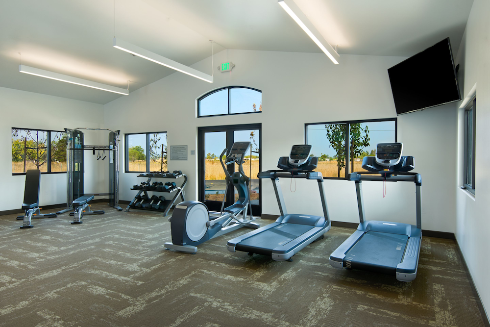 Gym, Oxford Suites Sonoma County