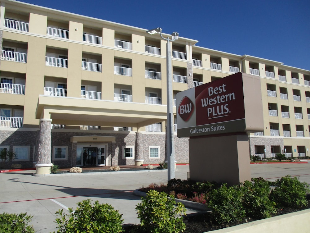 Best western plus galveston suites in galveston cheap for Cheap hotels