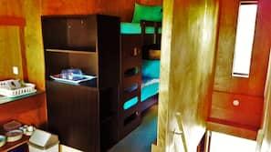 Chambres insonorisées, lits bébé (gratuits)