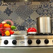 Kitchenette in kamer