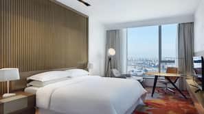 1 Schlafzimmer, hochwertige Bettwaren, Daunenbettdecken, Minibar
