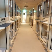 Capsule Hotel Wellbe Sakae - Caters to Men
