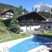 Chalet Lanni with pool by GriwaRent