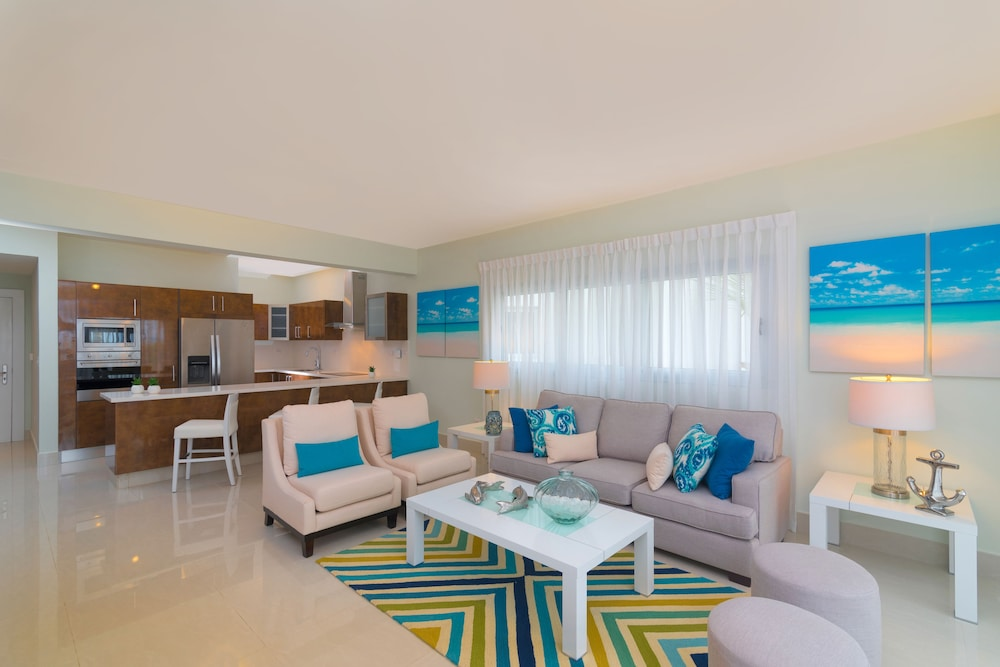 Living Area, Radisson Blu Resort & Residence Punta Cana All Inclusive