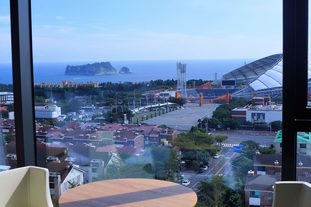 View from Room, Value Hotel Worldwide Seogwipo JS
