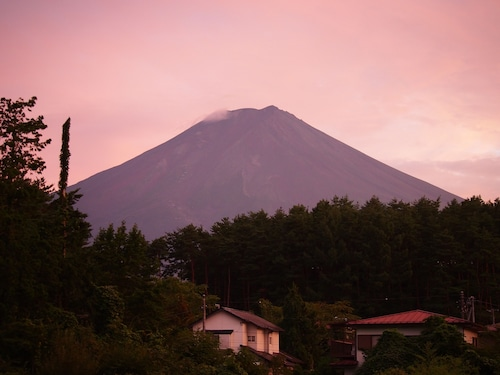 Kikkake Green and Mt.Fuji - Hostel
