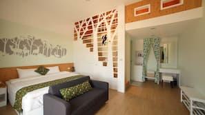 오리/거위털 이불, 무료 미니바, 각각 다른 스타일의 객실, 각각 다르게 가구가 비치된 객실