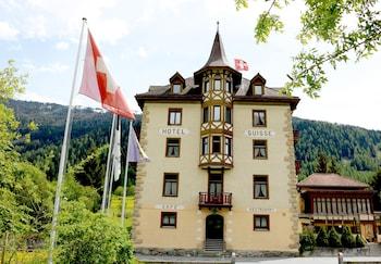 【スイス】世界遺産のザンクト・ヨハン修道院を観光するのに、近くのホテルを教えてください。