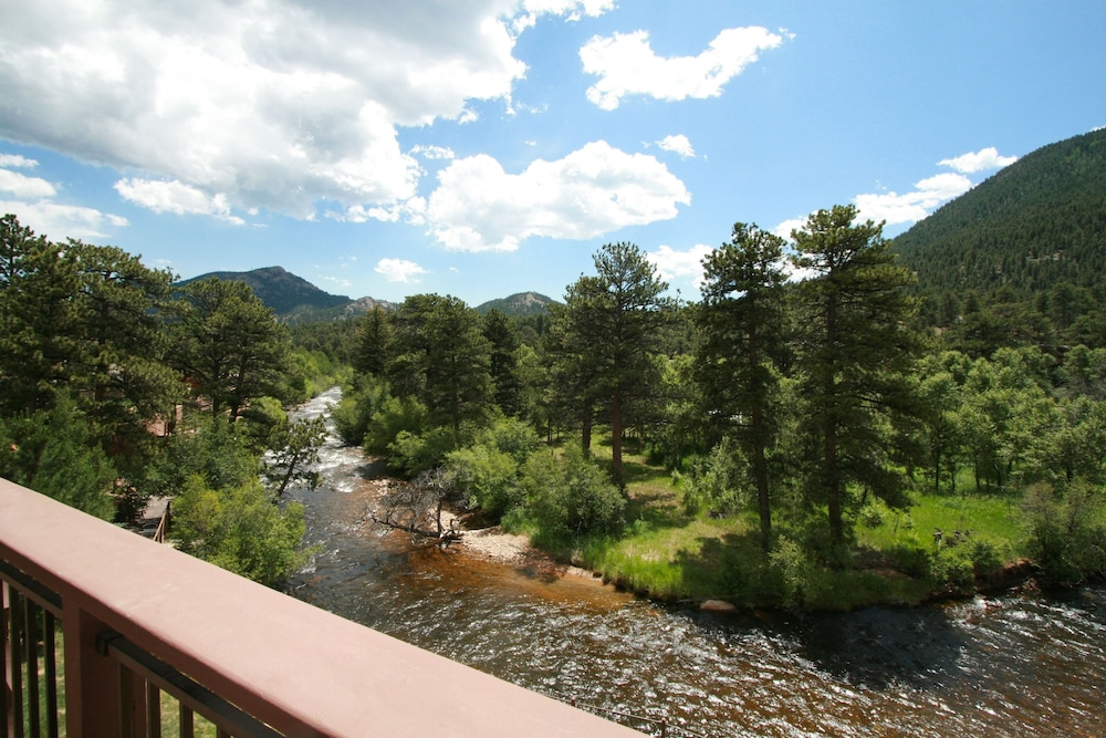 View from Room, The Landing at Estes Park - Riverside Retreat