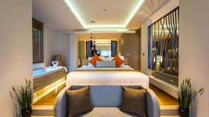 Minibar, coffre-forts dans les chambres, rideaux occultants