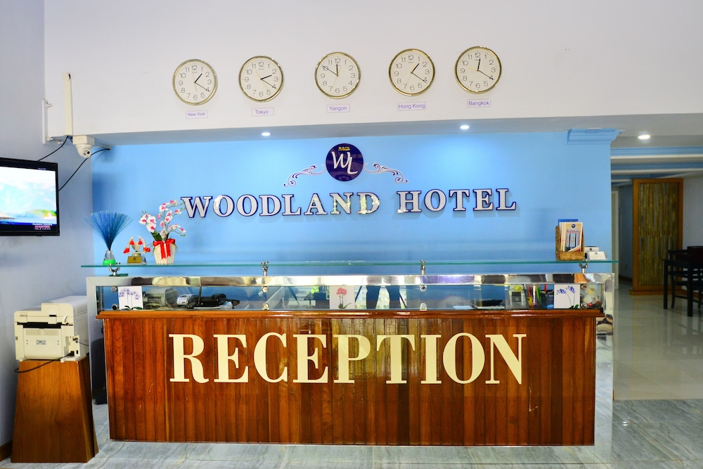 Reception, Woodland Hotel