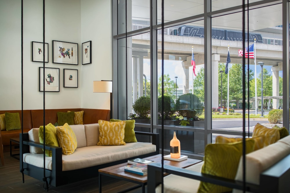 Renaissance Atlanta Airport Gateway Hotel 4 0 Out Of 5 Exterior Featured Image Lobby