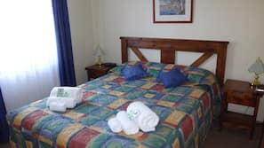 2 bedrooms, iron/ironing board, cots/infant beds, rollaway beds