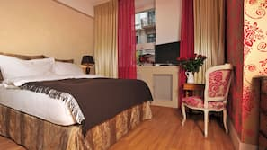 Premium bedding, down duvets, in-room safe, individually decorated
