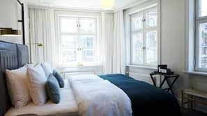 Premium bedding, in-room safe, individually furnished, blackout curtains