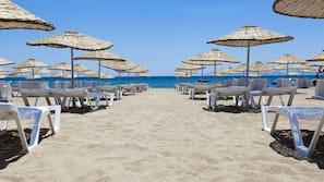 Privatstrand, Massagen am Strand
