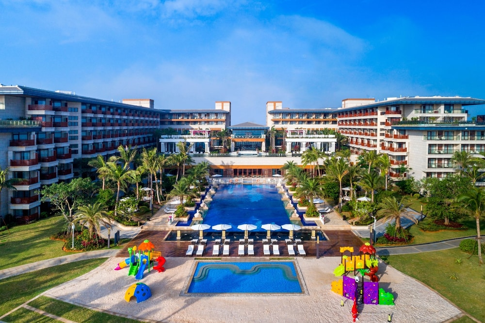 View from Property, Wyndham Grand Plaza Royale Wenchang