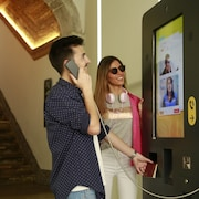 Check-in/out kiosk