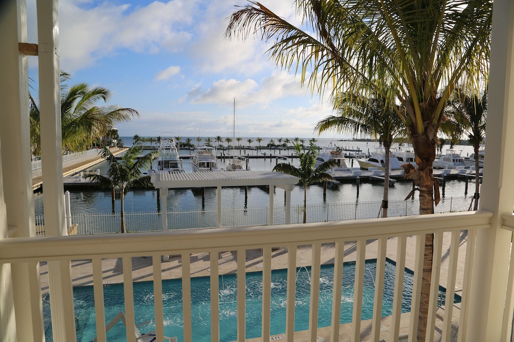 Balcony View, Oceans Edge Key West Resort, Hotel & Marina
