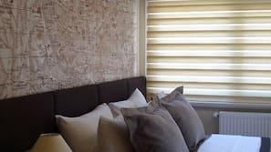 Sengetøy av topp kvalitet, safe på rommet, skrivebord og gratis wi-fi