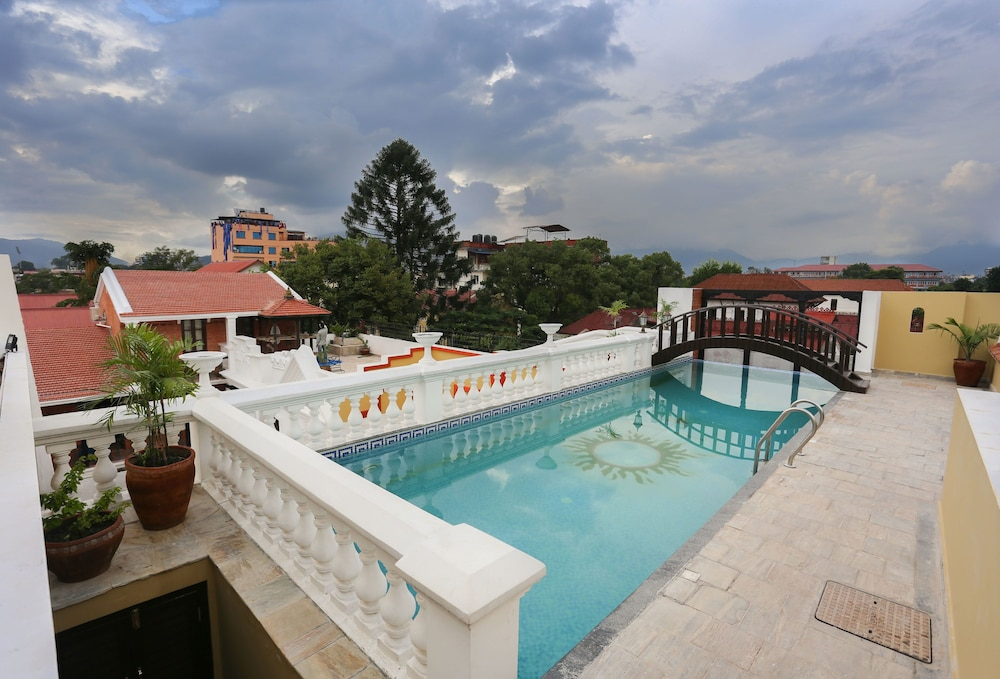View from Property, Baber Mahal Vilas