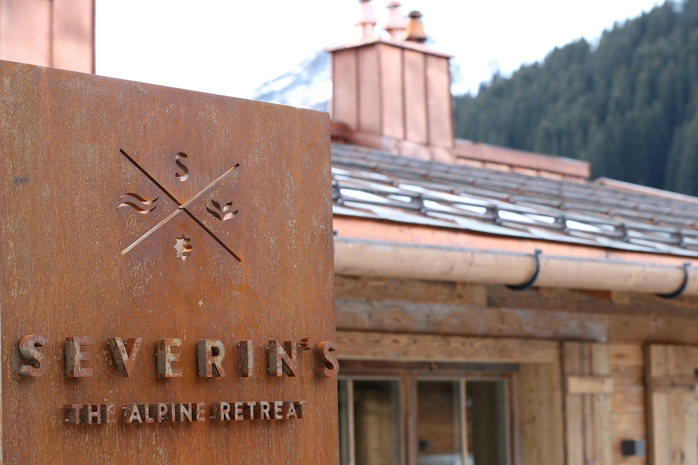Exterior detail, Severin*s The Alpine Retreat