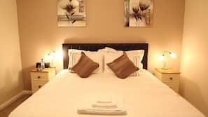 Egyptian cotton sheets, premium bedding, blackout curtains, linens