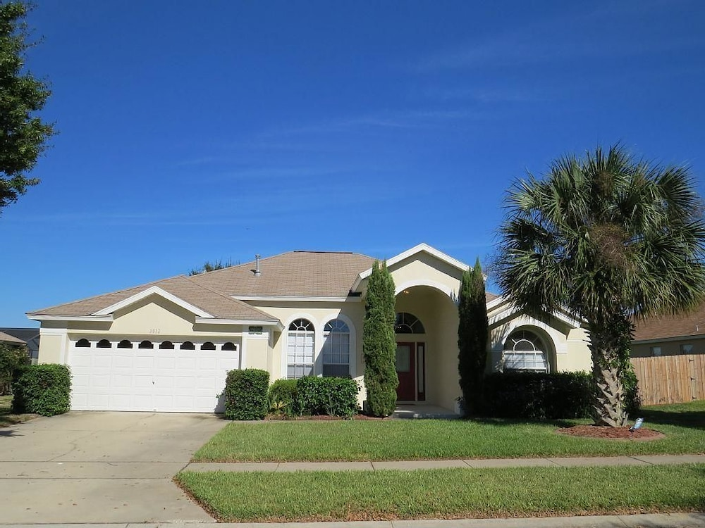 Book orange tree 4 bedroom villa by dream orlando vacation 5 bedroom vacation rentals in orlando