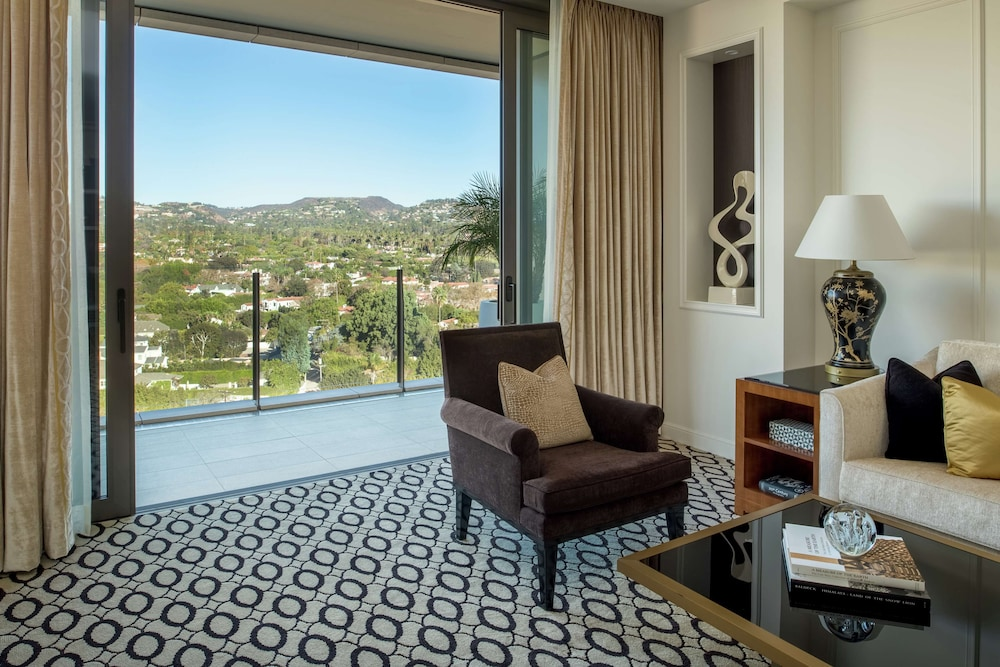 View from Room, Waldorf Astoria Beverly Hills