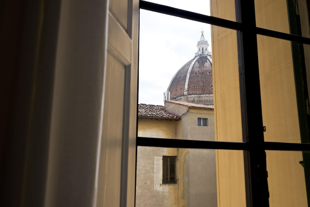 View from Room, The Artists' Palace Florence