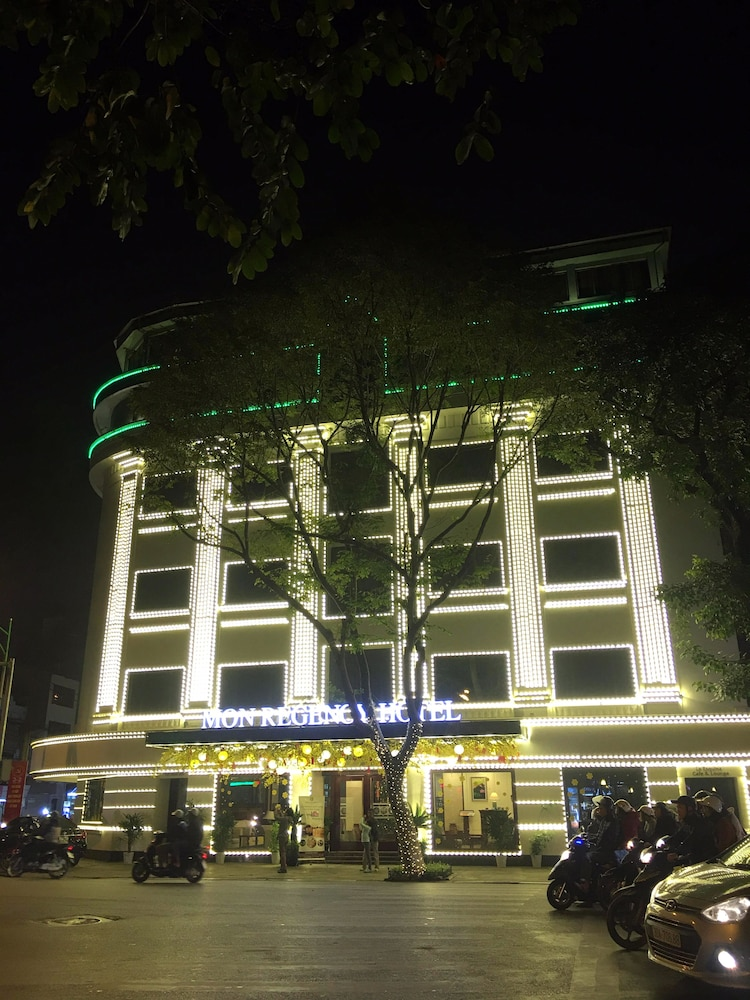Front of Property - Evening/Night, Mon Regency Hotel