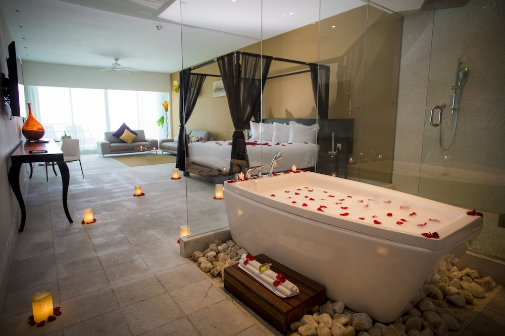 Deep Soaking Bathtub, Senses Riviera Maya by Artisan -Gourmet  All Inclusive - Adults Only