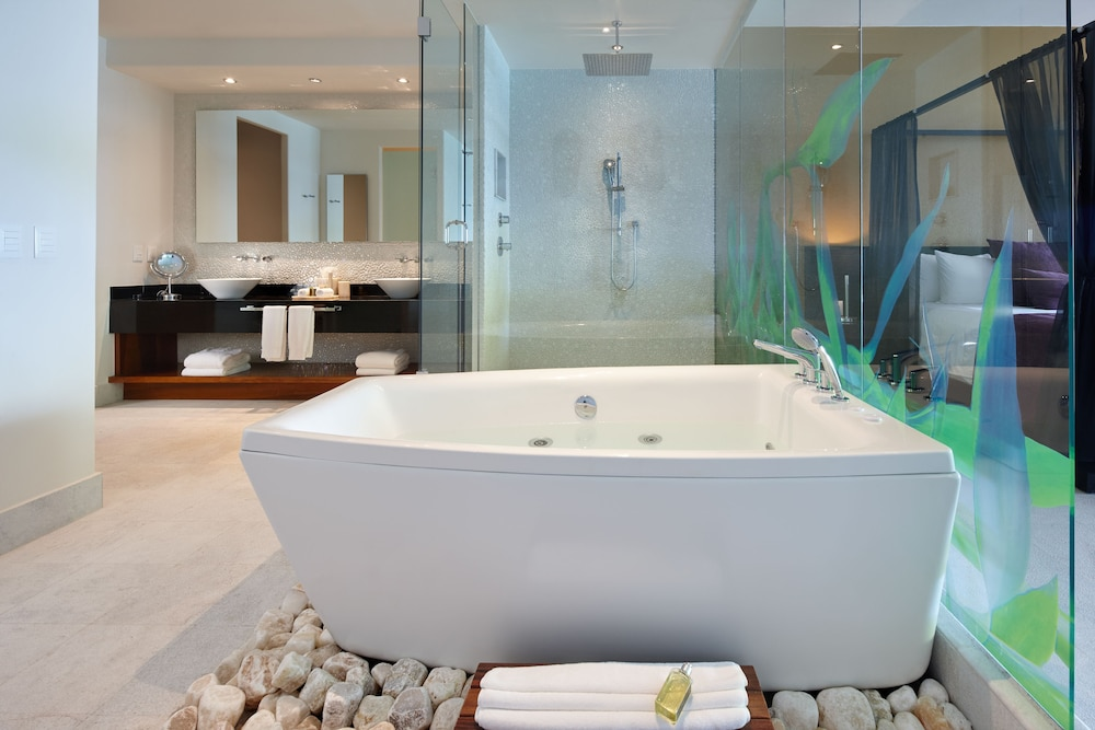 Bathroom, Senses Riviera Maya by Artisan -Gourmet  All Inclusive - Adults Only