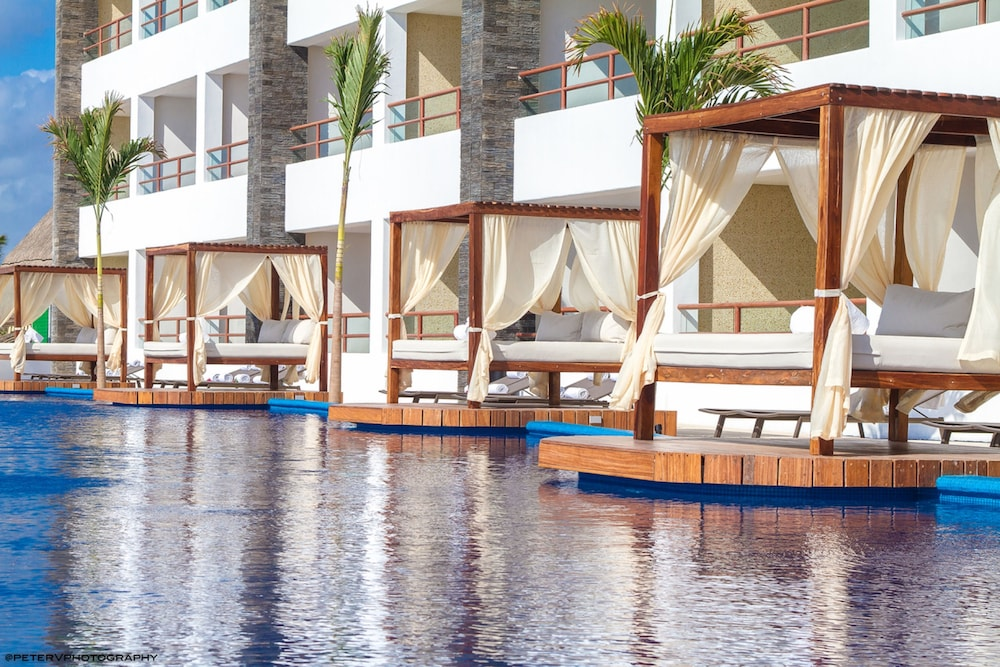 Outdoor Pool, Senses Riviera Maya by Artisan -Gourmet  All Inclusive - Adults Only