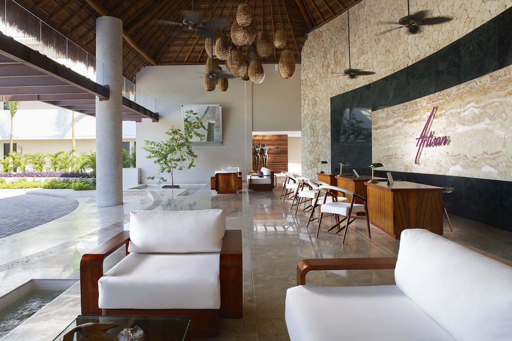 Lobby Sitting Area, Senses Riviera Maya by Artisan -Gourmet  All Inclusive - Adults Only