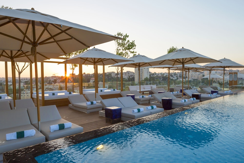 Outdoor Pool, Orient Hotel Jerusalem