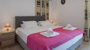 1 bedroom, hypo-allergenic bedding, in-room safe, soundproofing