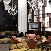 Siddeområde i lobby
