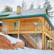 Kokopelli Retreat has great views with very comfortable kitchen family room on main level by RedAwning