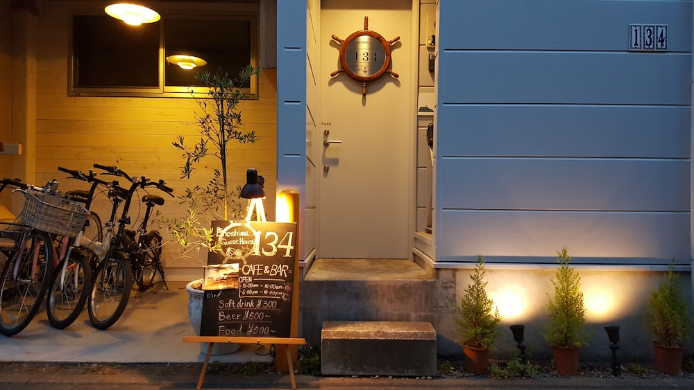 Front of Property - Evening/Night, Enoshima Guest House 134 - Hostel