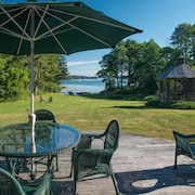 Waterfront Colonial in East Boothbay by RedAwning