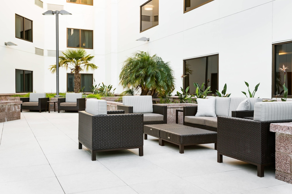 Terrace/Patio, Courtyard by Marriott Redwood City