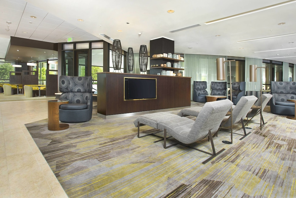 Lobby, Courtyard by Marriott Redwood City