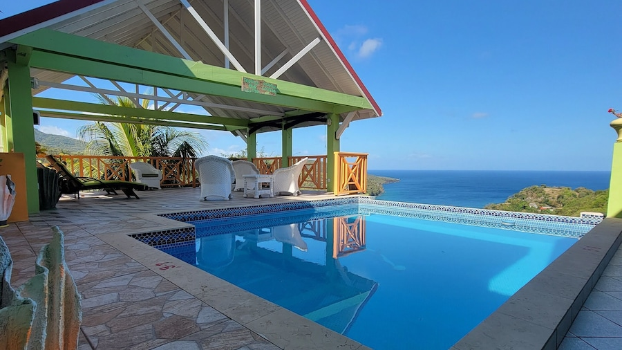 Tropical Paradise View